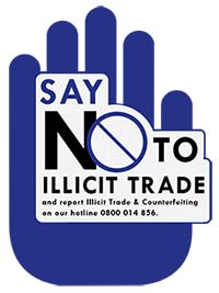 Illicit Trade and Counterfeit Goods Hotline